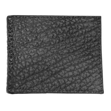 Bozeman Bison Leather Billfold Wallet