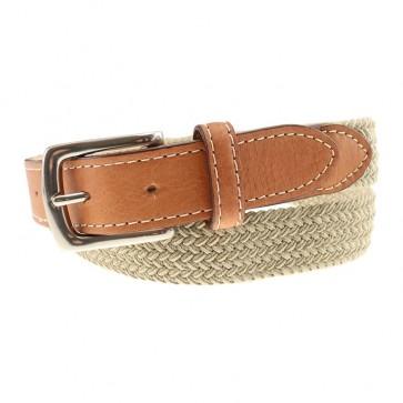 Cooper Elastic Braid & Bison Belt
