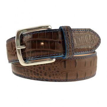 Briar Brown One Size Golf Curtis Alligator Grain Belt