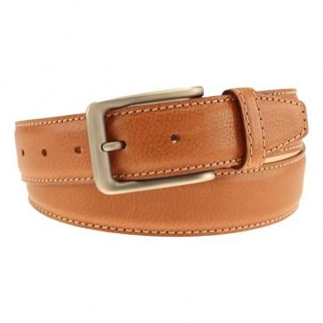 Tan Kent Calfskin Sporting Belt