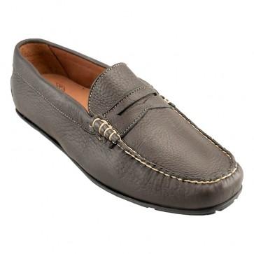 Mahogany Elk Leather Driving ShoesMahogany Elk Leather Driving Shoes