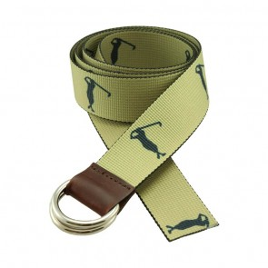 Golfing Largo D-Ring Sailing Belt