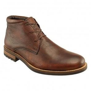 Acadia Brown Deerskin Leather Boot