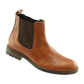 Santa Fe Tan Panel Chelsea Boot