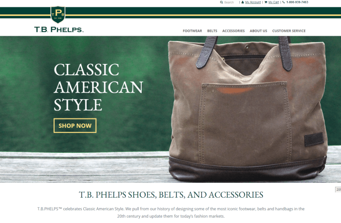 T.B. Phelps Launches New Responsive Website