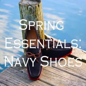 Spring Essentials: Navy Shoes