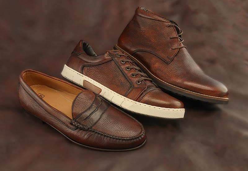 Deerskin Leather Shoes